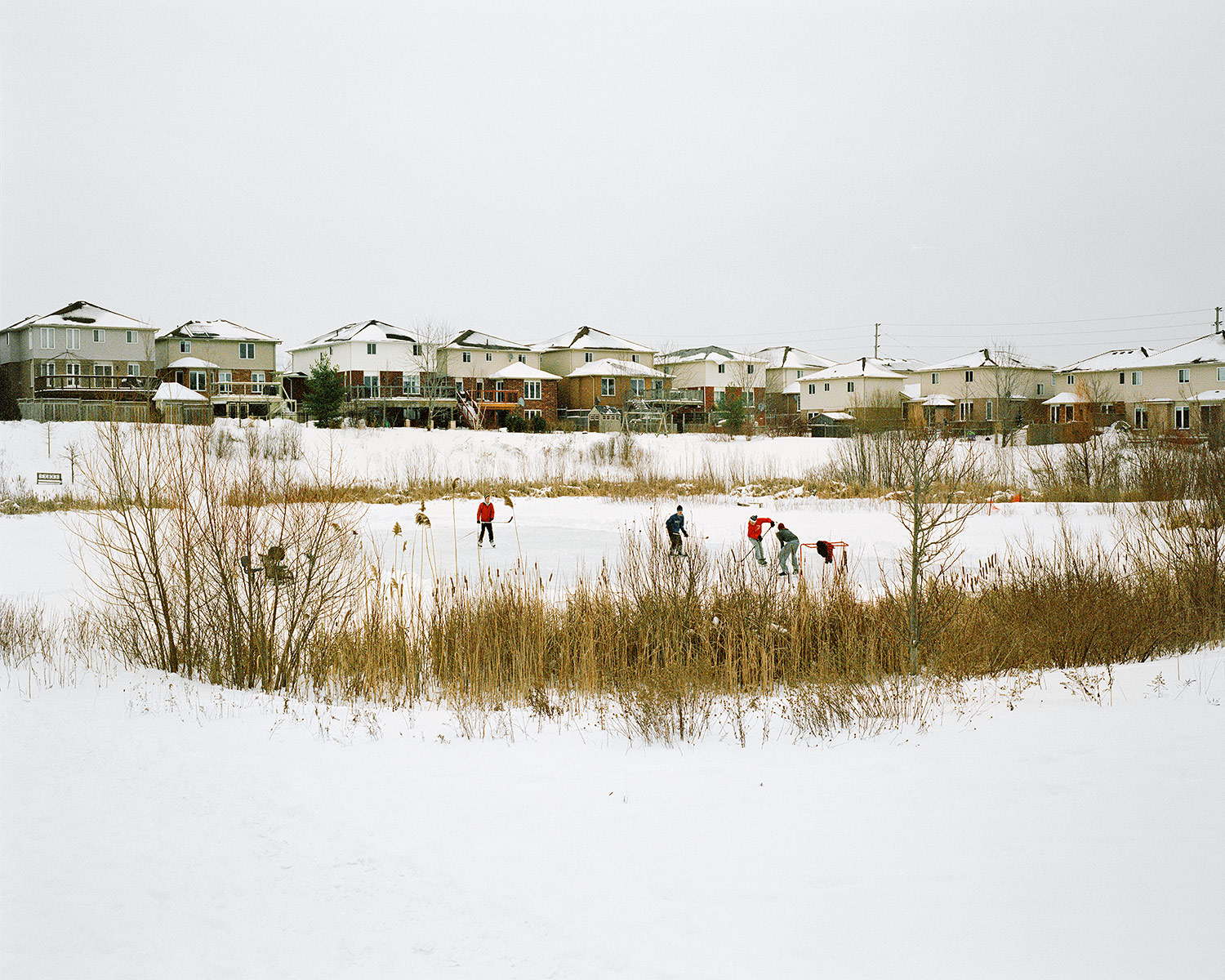 Shinny, Guelph, Ontario, Brant Slomovic Documentary Photography