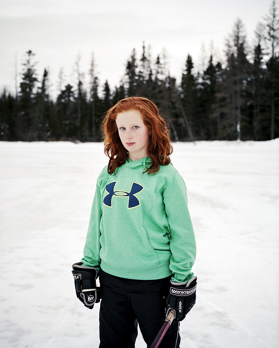 Shinny, Denver, Plaster Rock, New Brunswick, Brant Slomovic Documentary Photography