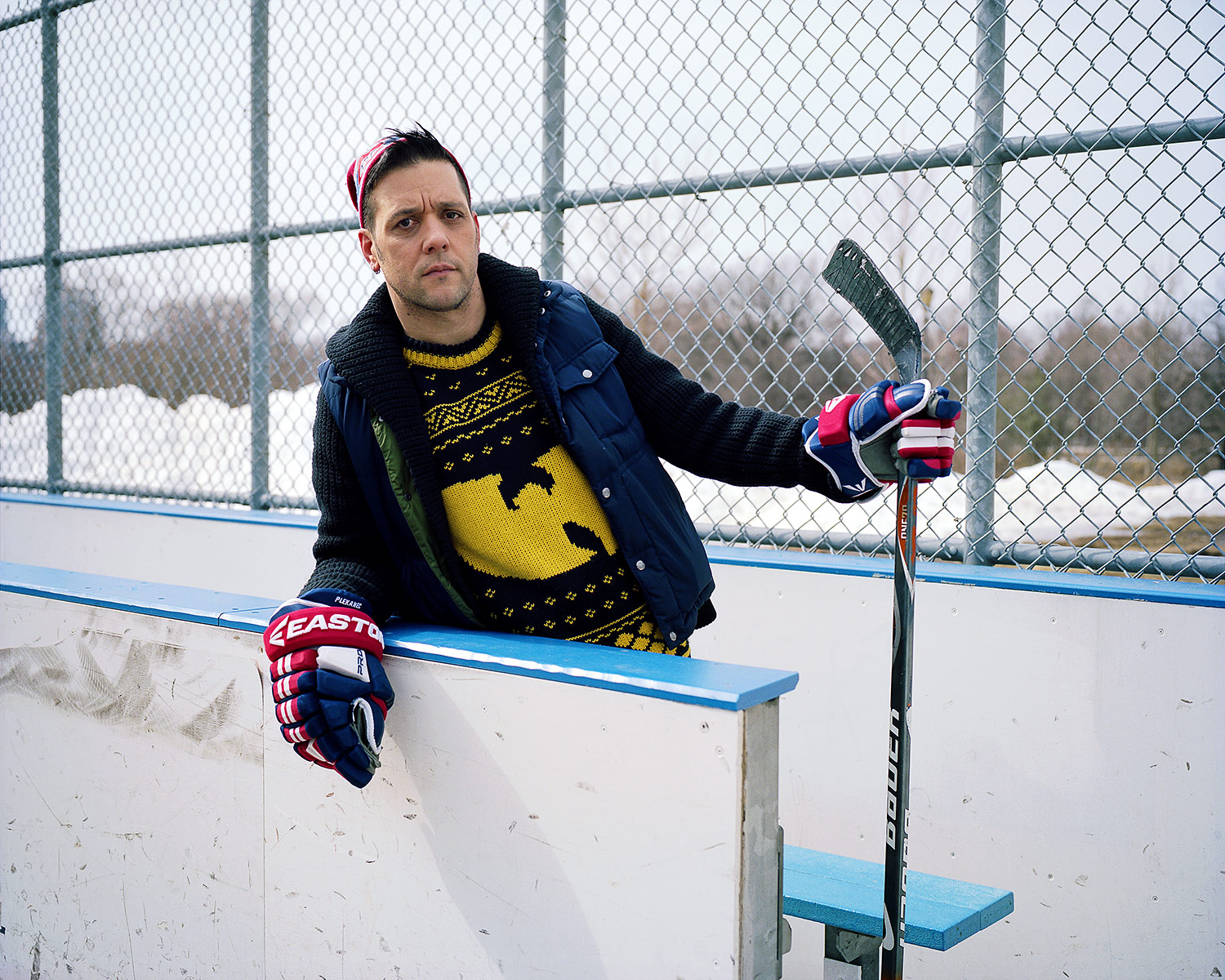 Shinny, George Stroumboulopoulos., Trinity Bellwoods Park, Toronto, Brant Slomovic Documentary Photography
