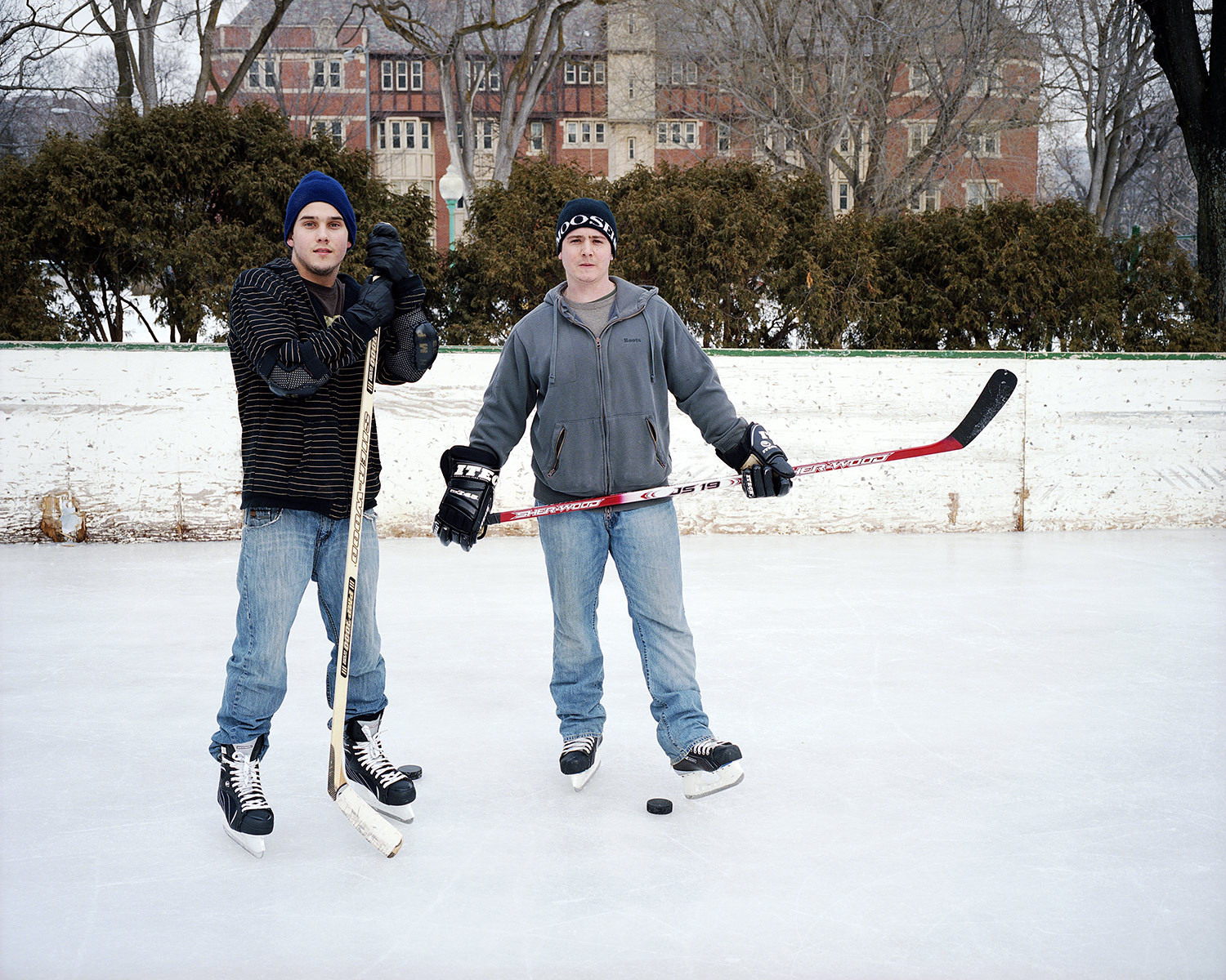 Shinny, Alex & David, Westmount, Quebec, Brant Slomovic Documentary Photography